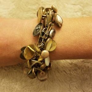 Jewelry - Vintage Cuff Links Bracelet